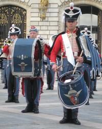 Soldat du 1er RHP en grande tenue