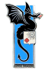 Insigne du 2e régiment de dragons
