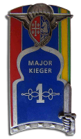 Insigne de la promotion Major Kieger